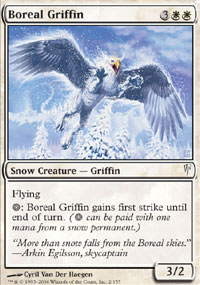 Boreal Griffin - Coldsnap