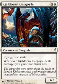 Kjeldoran Gargoyle - Coldsnap