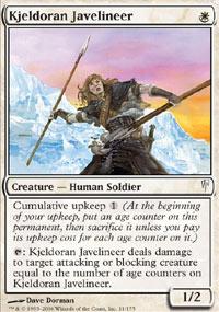 Kjeldoran Javelineer - Coldsnap
