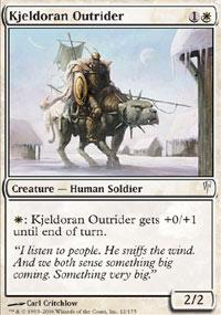 Kjeldoran Outrider - Coldsnap