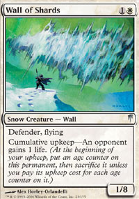 Wall of Shards - Coldsnap