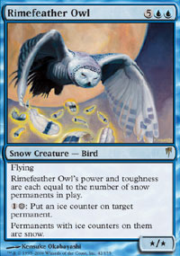 Rimefeather Owl - Coldsnap
