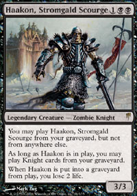 Haakon, Stromgald Scourge - Coldsnap
