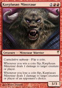 Karplusan Minotaur - Coldsnap