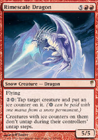 Rimescale Dragon - Coldsnap