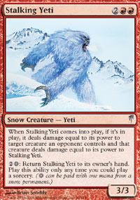 Stalking Yeti - Coldsnap