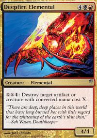 Deepfire Elemental - Coldsnap