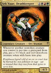 Sek'Kuar, Deathkeeper - Coldsnap