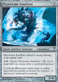 Phyrexian Ironfoot - Coldsnap