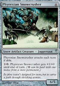 Phyrexian Snowcrusher - Coldsnap