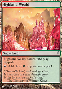 Highland Weald - Coldsnap