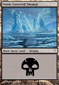 Snow-Covered Swamp - Coldsnap