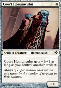 Court Homunculus - Conflux