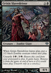 Grixis Slavedriver - Conflux