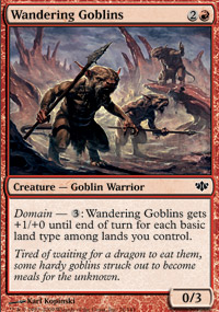 Wandering Goblins - Conflux