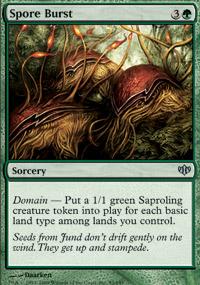 Spore Burst - Conflux