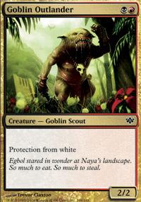 Goblin Outlander - Conflux