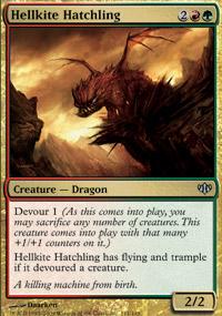 Hellkite Hatchling - Conflux