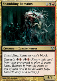 Shambling Remains - Conflux