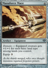 Manaforce Mace - Conflux