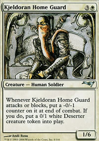 Kjeldoran Home Guard - Coldsnap Theme Decks