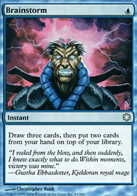 Brainstorm - Coldsnap Theme Decks