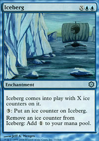 Iceberg - Coldsnap Theme Decks