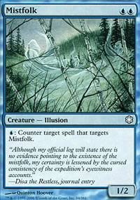 Mistfolk - Coldsnap Theme Decks