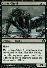 Ashen Ghoul - Coldsnap Theme Decks
