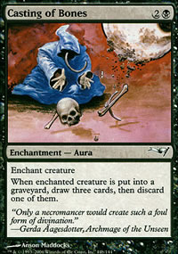 Casting of Bones - Coldsnap Theme Decks