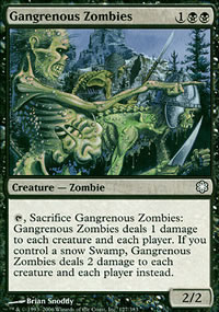 Gangrenous Zombies - Coldsnap Theme Decks