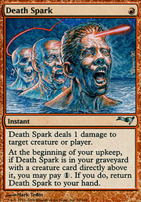 Death Spark - Coldsnap Theme Decks
