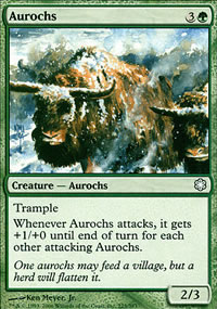 Aurochs - Coldsnap Theme Decks