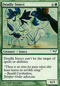 Deadly Insect - Coldsnap Theme Decks
