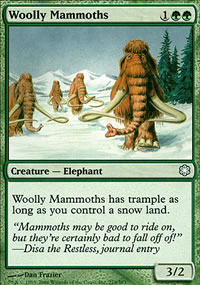 Woolly Mammoths - Coldsnap Theme Decks