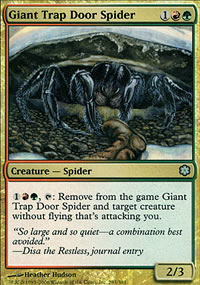 Giant Trap Door Spider - Coldsnap Theme Decks