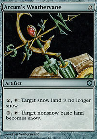 Arcum's Weathervane - Coldsnap Theme Decks