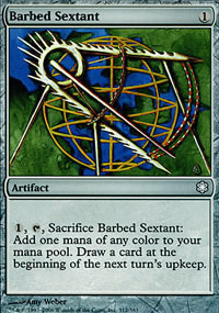 Barbed Sextant - Coldsnap Theme Decks