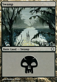 Swamp 1 - Coldsnap Theme Decks