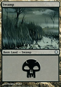 Swamp 2 - Coldsnap Theme Decks