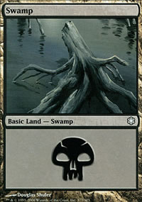 Swamp 3 - Coldsnap Theme Decks