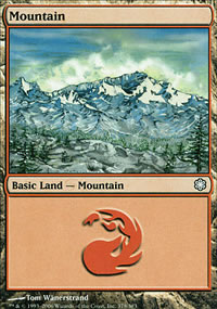 Mountain 1 - Coldsnap Theme Decks