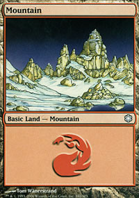Mountain 3 - Coldsnap Theme Decks