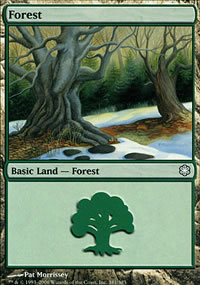 Forest 1 - Coldsnap Theme Decks