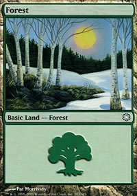 Forest 2 - Coldsnap Theme Decks