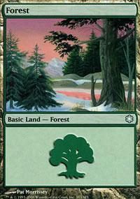Forest 3 - Coldsnap Theme Decks