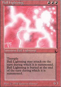 Ball Lightning - The Dark