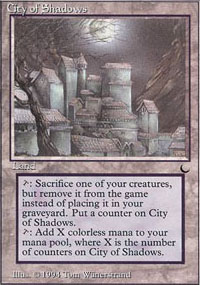 City of Shadows - The Dark