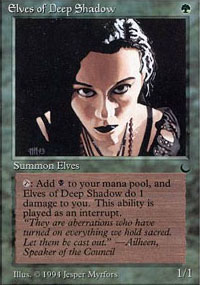 Elves of Deep Shadow - The Dark