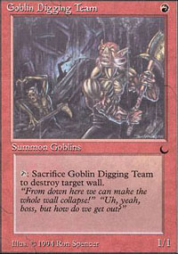 Goblin Digging Team - The Dark